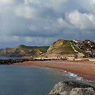 West Bay at Bridport in Dorset by trish725