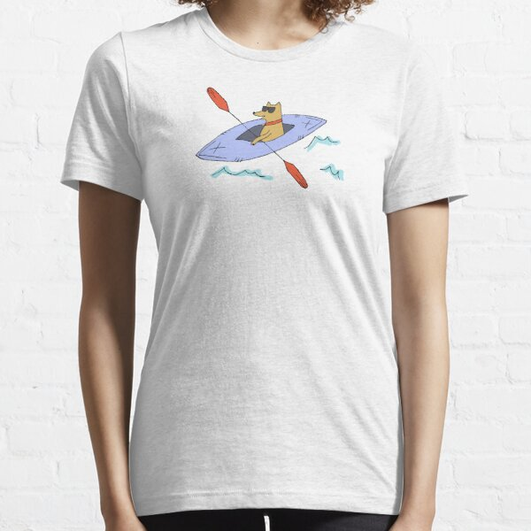Cool Dog Kayaking Essential T-Shirt