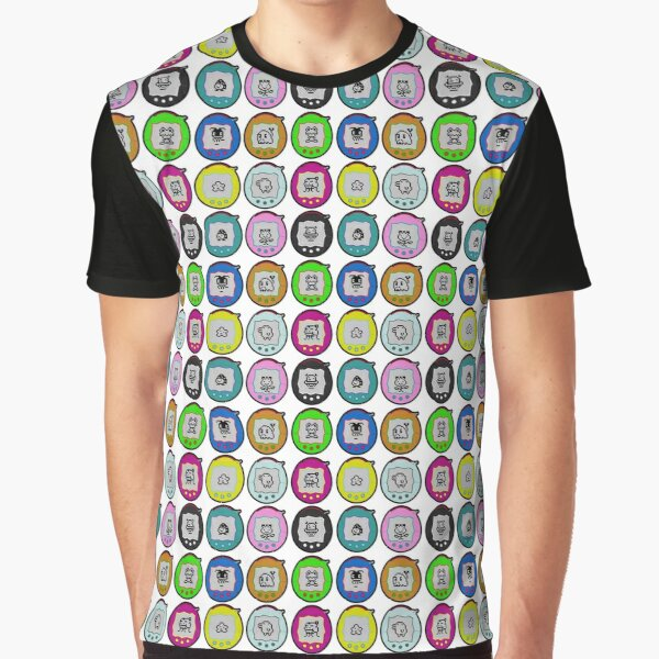 Tamagotchi Connection Print (Retro Virtual Pet) Graphic T-Shirt