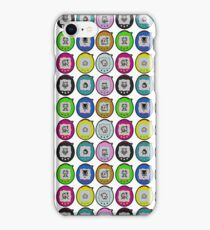 Tamagotchi Connection Print (Retro Virtual Pet) iPhone Case/Skin