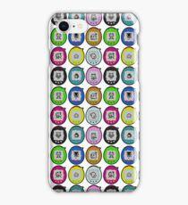 Tamagotchi Connection Print (Retro Virtual Pet) iPhone Case/Skin