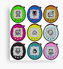 Tamagotchi Connection Print (Retro Virtual Pet) Canvas Print