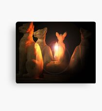 The Tomb of Bastet Canvas Print