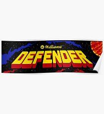 Defender - Williams Arcade Game - 1981 Poster