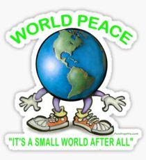 World Peace Sticker