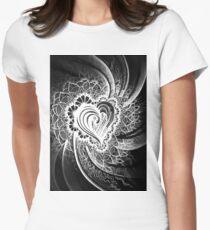 Crazy Heart Women's Fitted T-Shirt