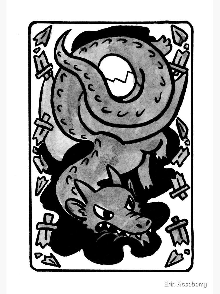 Sigil For Retroactive Protection -- Textless   Greeting Card