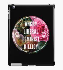 Angry Liberal Feminist Killjoy iPad Case/Skin