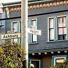 Haight Ashbury San Francisco California by Buckwhite