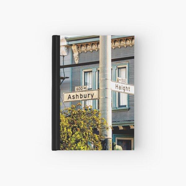 Haight Ashbury San Francisco California Hardcover Journal