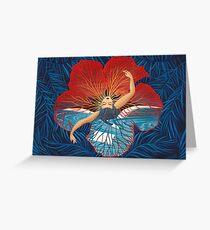 Blume Hawaii Pele Grußkarte