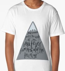 West Wing Toby Wrath of the Whatever Long T-Shirt