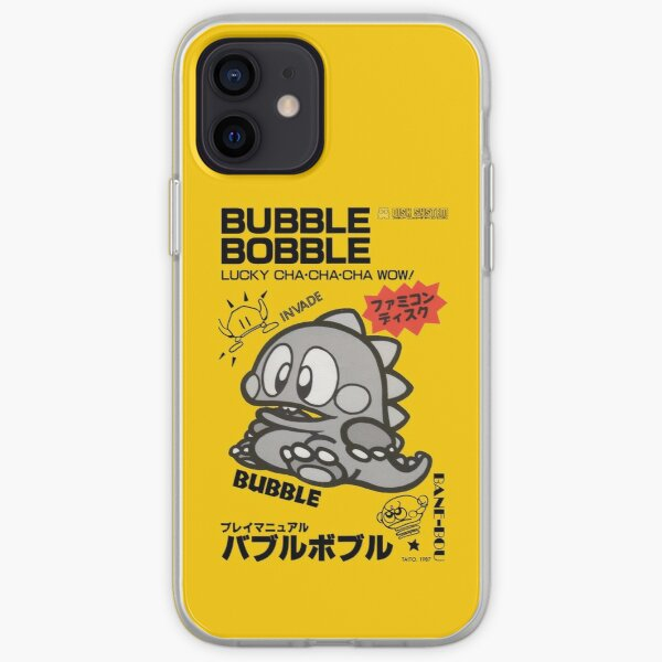 Bubble Bobble Famicom iPhone Soft Case