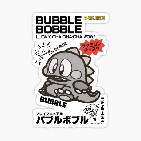 Bubble Bobble Famicom Sticker