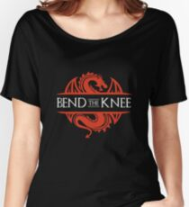 Bend The Knee T-Shirt Women's Relaxed Fit T-Shirt