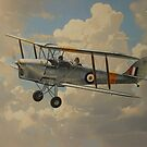 D.H. Tiger Moth by defineart