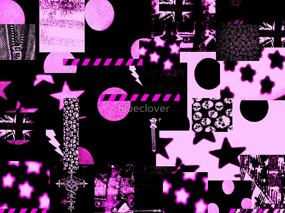 Abstract Patterns Purple by blueclover