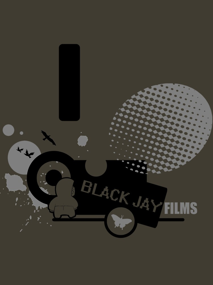 Black Jay Films  T-shirt 001 by BlackJayFilms