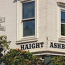 Haight Ashbury - Home of the Hippies in the 60's by Buckwhite