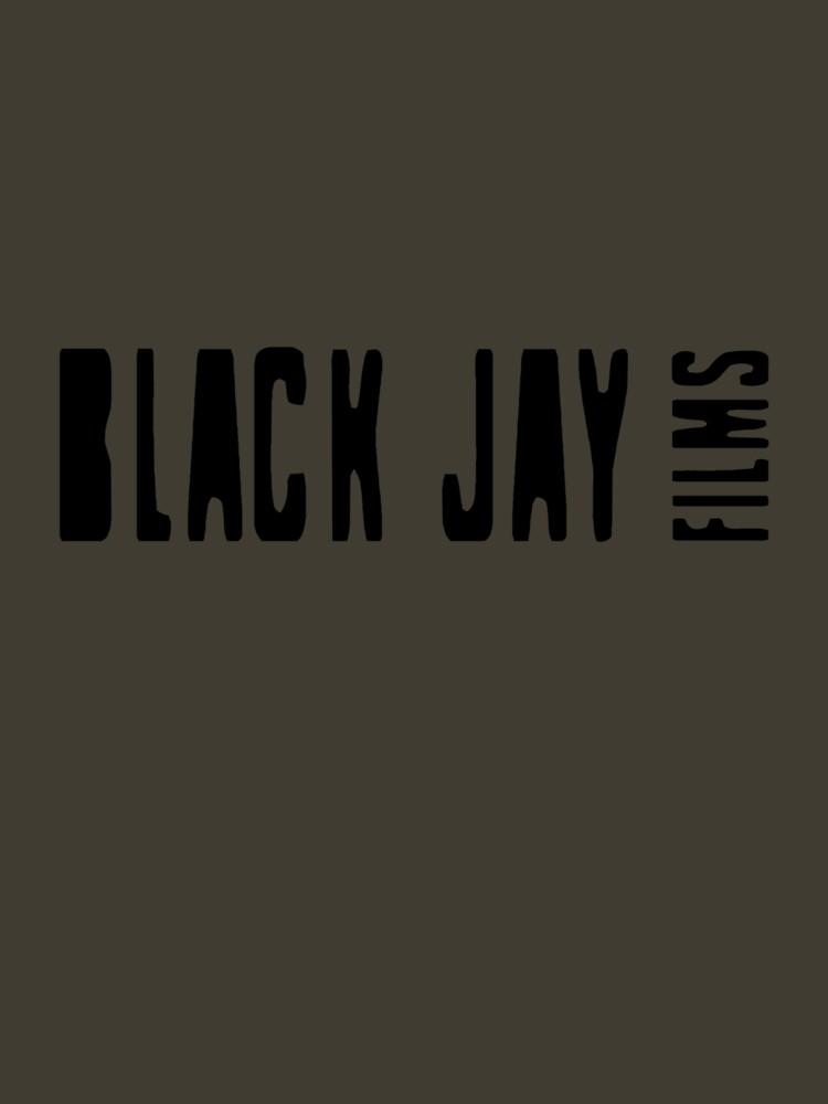 Black Jay Films  Logo T-shirt  by BlackJayFilms