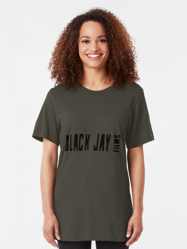 Alternate view of Black Jay Films  Logo T-shirt  Slim Fit T-Shirt