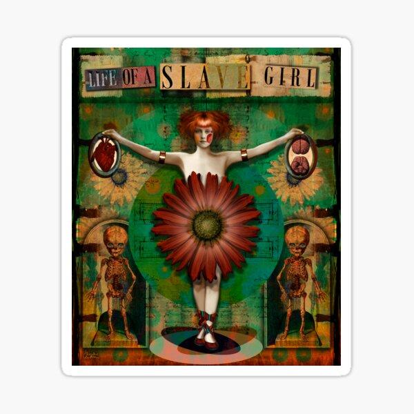 """Daisy Woman (Life of a Slave Girl)"" Sticker"