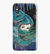 Forest eyes iPhone Case/Skin