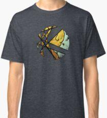 Vector Circle Kitty Graffiti Burst Classic T-Shirt