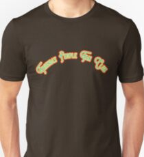 Friendly People Fan Club -  Pistachio Green & Yellow Version T-Shirt