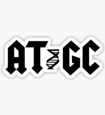 ATGC Molecular Biology Genetics Sticker