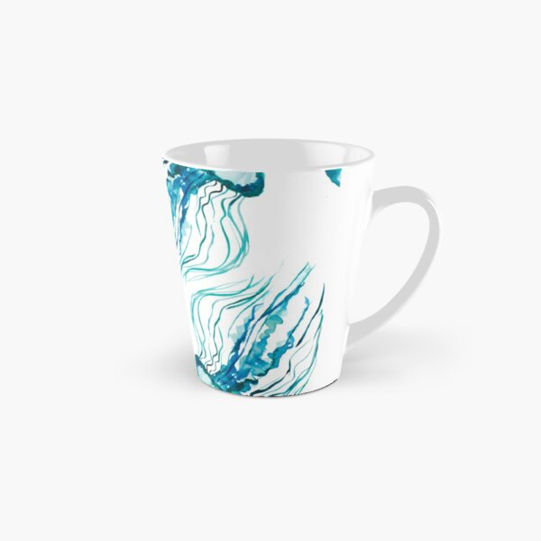 Watercolor Jellyfish Tall Mug