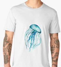 Watercolor Jellyfish Men's Premium T-Shirt