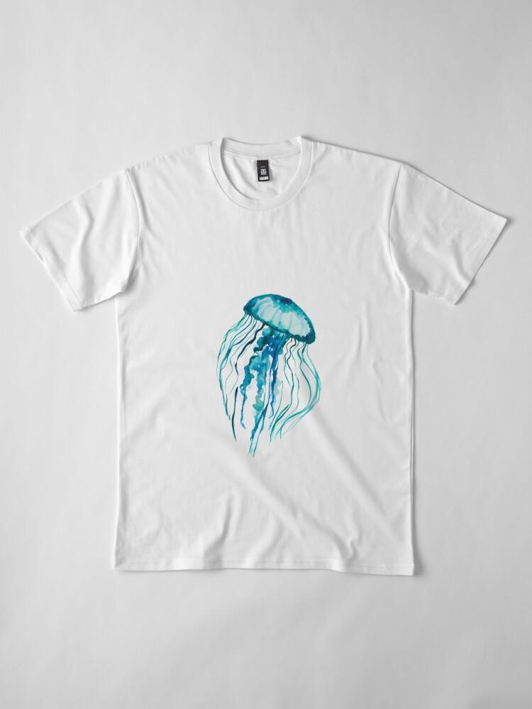 Vista alternativa de Camiseta premium Medusa acuarela
