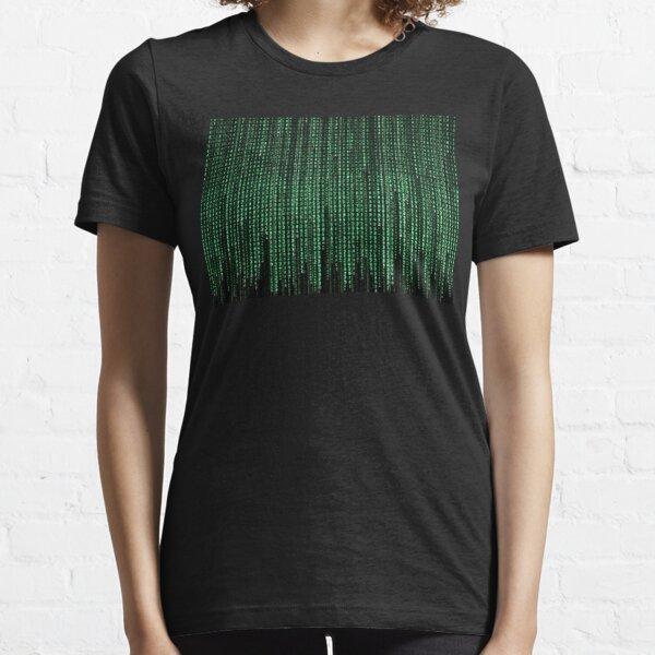 Code de matrice T-shirt essentiel