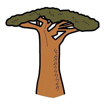 Madagascar Baobab Tree by wildlifeandlove