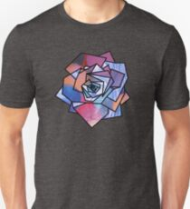 Rose (Sampled Bubble Gum + StarryNight Omage) Geometry T-Shirt