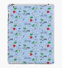 Unicorn and Friends Awesome Pattern iPad Case/Skin