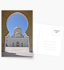 Sheikh Zayed Mosque Abu Dhabi Postcards