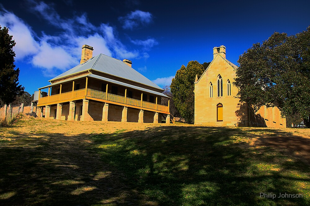 Shadows Of The Past - Hartley Historic Park - The HDR Series by Philip Johnson
