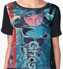 ghost in the shell by remsoun Chiffon Top