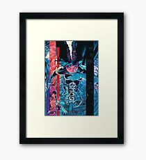 ghost in the shell by remsoun Framed Print