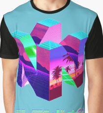 Nintendo 64 Vaporwave Graphic T-Shirt