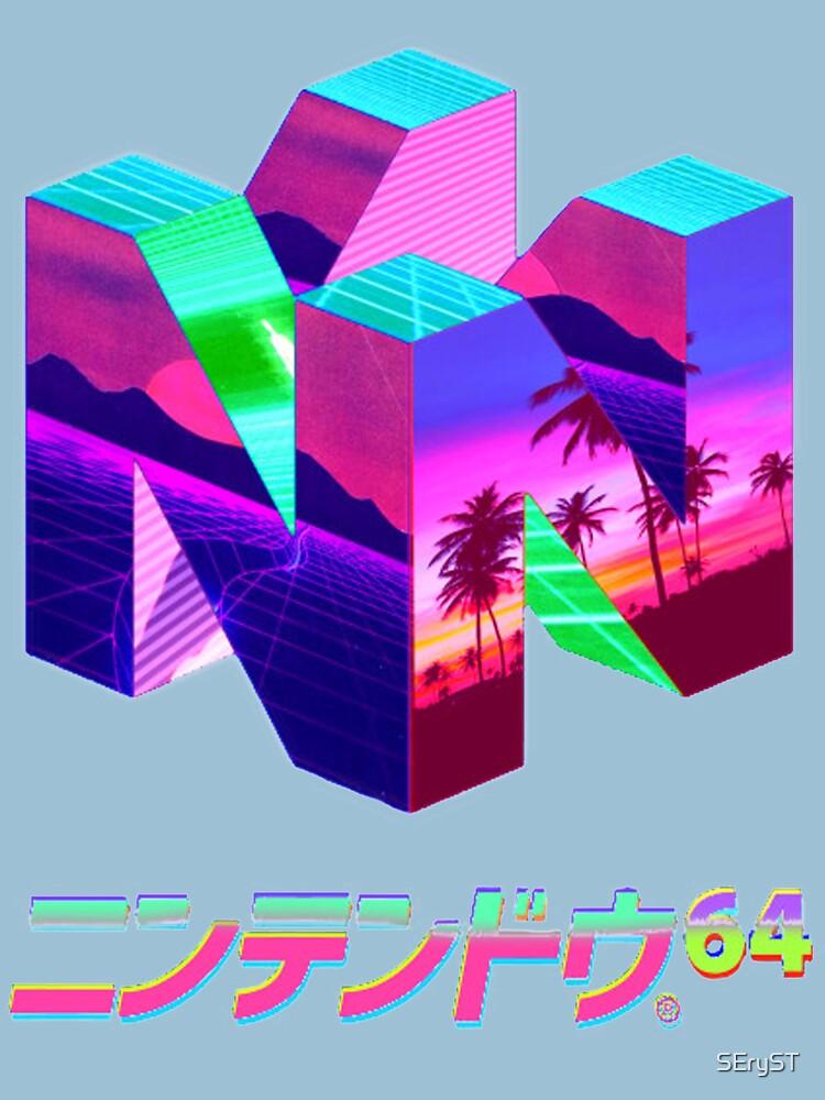Nintendo 64 Vaporwave de SEryST