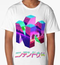 Nintendo 64 Vaporwave Long T-Shirt