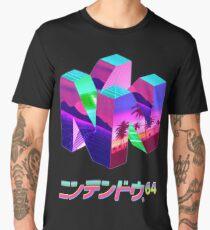Nintendo 64 Vaporwave Men's Premium T-Shirt