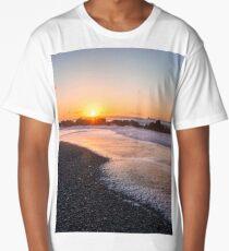 Salt air at sunset Long T-Shirt