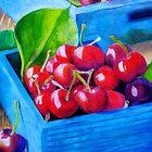 Cherries by JoyousFineArt