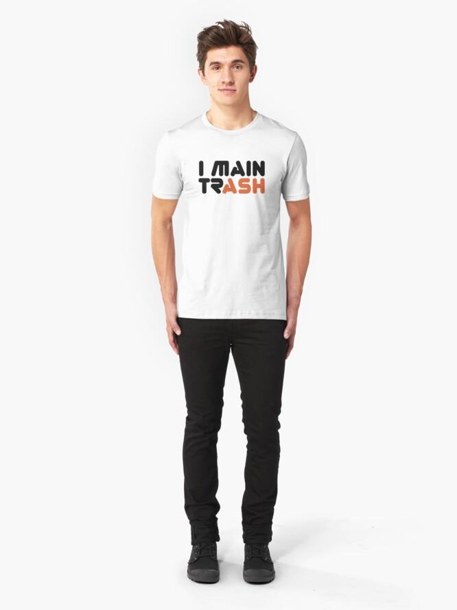 Vista alternativa de Camiseta ajustada I MAIN (TR) ASH [Roufxis - RB]