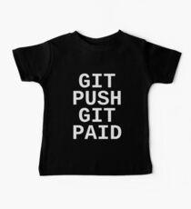 Git Push Git Paid Baby Tee