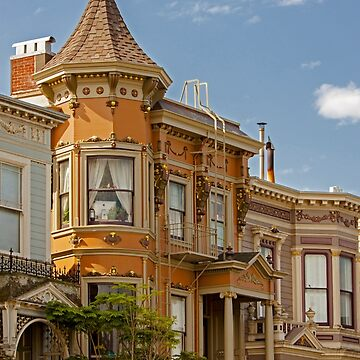 Old Victorian House - Haight Ashbury Neighborhood - San Francisco, California by Buckwhite